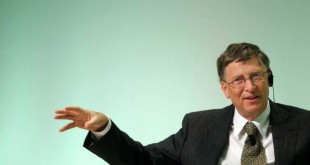 Bill Gates speaking at IFAD