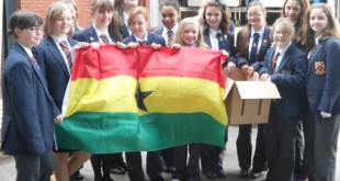The Ghana Group at the Chudley International depot on the morning of Friday 11th May