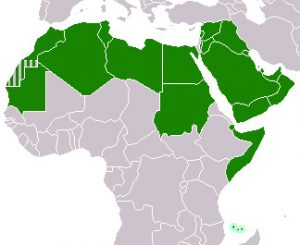 Arab league map-wiki