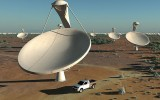 South Africa's new radio telescope reveals giant outbursts from binary star system