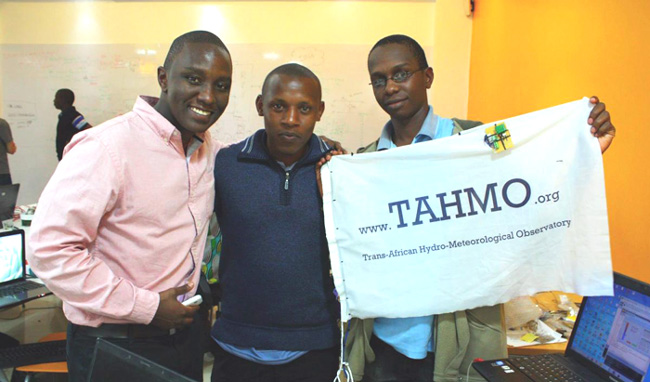 IBM Research - Africa dropped by at the workshop to see what the TAHMO buzz is all about