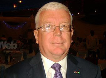 Mike Purves, director of UK Trade and Investment, based in Lagos