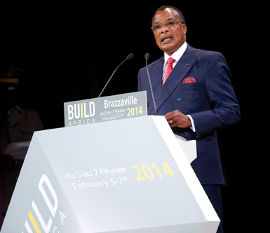 BUILD Africa was inaugurated by HE Denis Sassou N'Guesso, President of the Republic of Congo