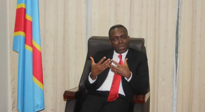 The Prime Minister of the Democratic Republic of Congo, Matata Ponyo Mapon