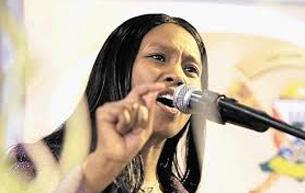 Communications Deputy Minister Stella Ndabeni-Abrahams