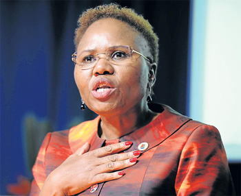 Small Business Development Minister Lindiwe Zulu