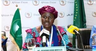 The Director of the African Union Women Gender and Development (AUWGDD), Mrs. Mahawa Kaba Wheeler